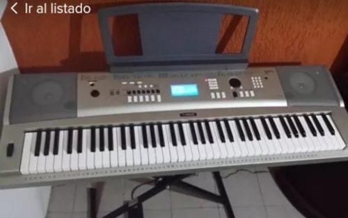 Teclado Yamaha Profesional
