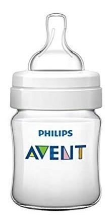 Tetero Biberón Para Bebe Avent Philips Clásico De 4oz