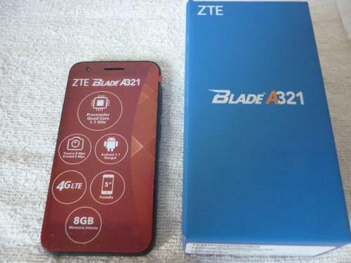 Zte Blade A321 Quad Core, 4g, 8mp, Mejor Que Maven 3 Nuevo