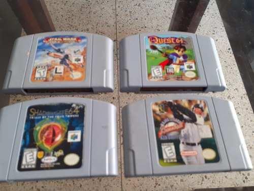 4 Juegos Nintendo 64 Vendo Los 4 Oigo Una Buena Oferta