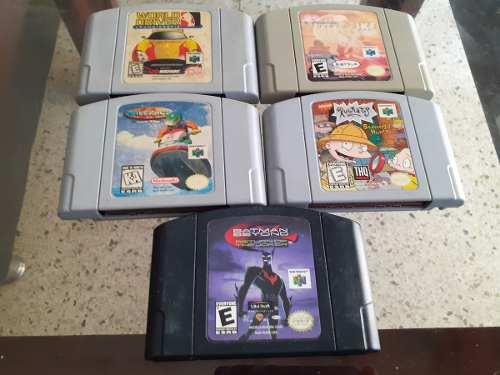 5 Juegos Nintendo 64 Vendo Los 5 Oigo Una Buena Oferta