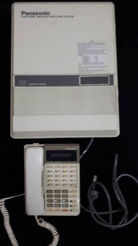 Central Telefonica Panasonic Kx-t61610b Con Telefono