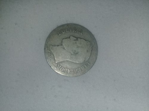 Colección De Monedas Venezolanas Plata .