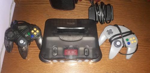 Consola Nintendo 64 Funtastic Smoke Black + Expansion Pak