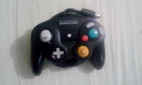 Control Negro De Nintendo Gamecube.