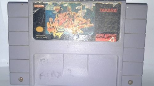 Fatal Fury 2 Video Juego Nintendo 64 Original Usado Qq12