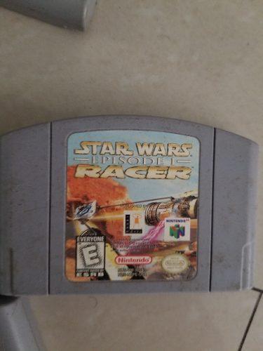 Juego De Nintendo 64 Star Wars Episode Racer