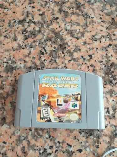 Juego De Nintendo 64 Star Wars Racer
