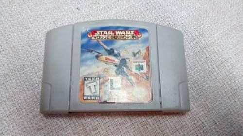 Juego Nintendo 64 Star Wars. Rogue Squadron.
