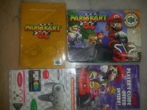 Mario Cart Nintendo 64 (caja Y Manuales)