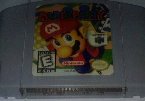 Mario Party Nintendo 64 Video Juego Original Usado Qq18