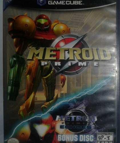 Metroid Prime Game Cube Video Juego Original Usado Qq5