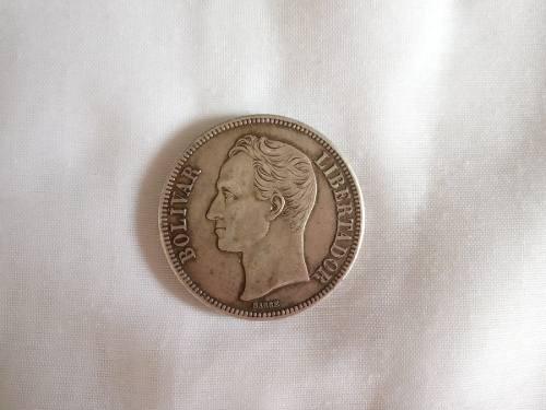 Moneda Antigua Coleccionistas Bs. 5