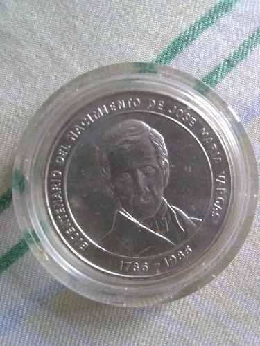 Moneda Colección Bicentenario José María Vargas