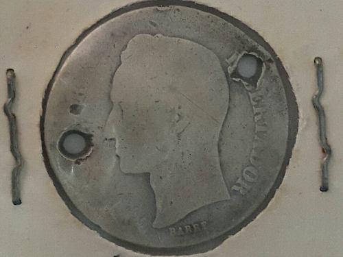 Moneda De Plata 1 Bolivar Republica De Venezuela