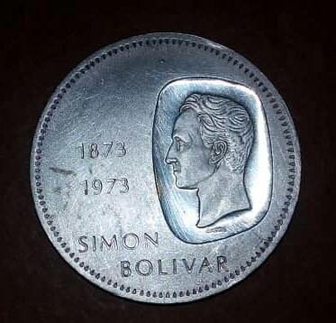 Moneda De Plata De 10 Bolívares Doblón