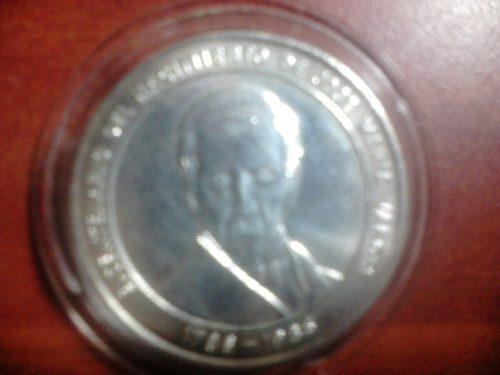 Moneda De Plata Ley 900 De 100 Bolivares Año