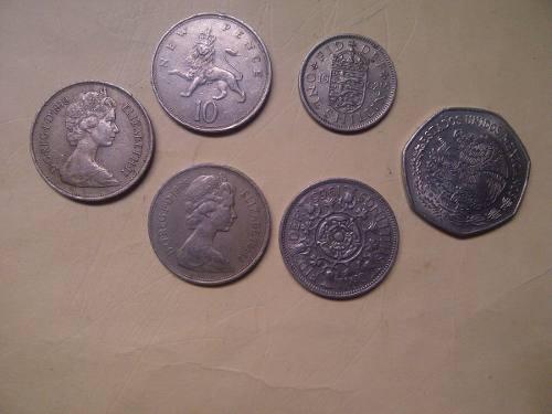 Monedas Antiguas De Elizabeh Il