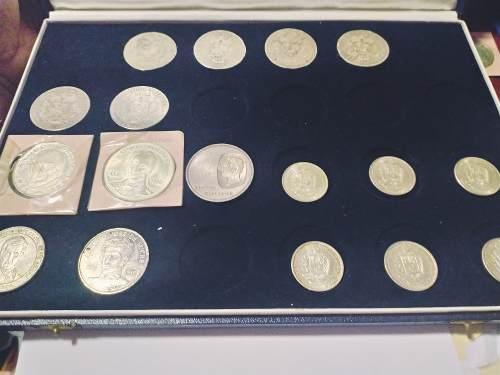 Oferta Colección Monedas De Plata De Venezuela Con Maletin