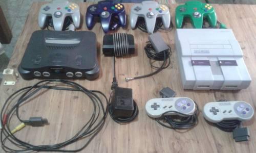 Oferta Especia: Nintendo 64 Y Super Nintendo