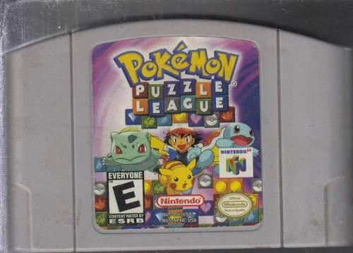 Pokemon Puzzle League Juego Original Usado Qq7. A8.