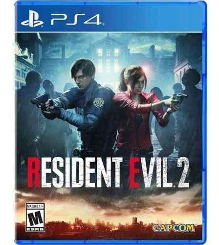 Resident Evil 2 Ps4 (45) Fisico Sellado Tienda Fisica