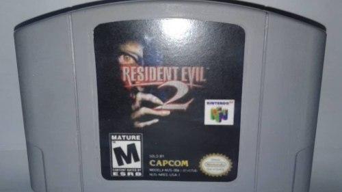 Resident Evil Video Juego Nintendo 64 Original Usado Qq12
