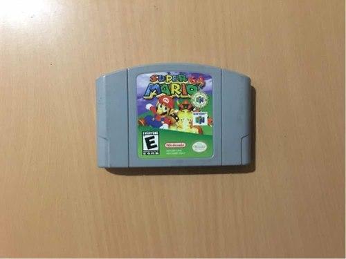 Super Mario 64. Juego De Nintendo 64