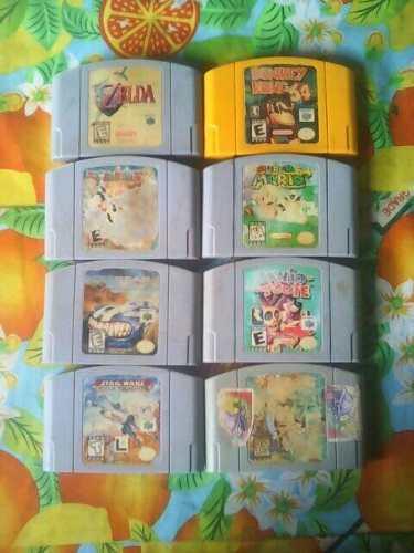 Zelda, Donkey Kong, Mario Party 2 Y Mas Para N64!