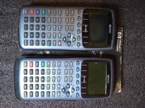 2 Calculadoras Hp 49g Para Reparar O Repuesto Con Manual