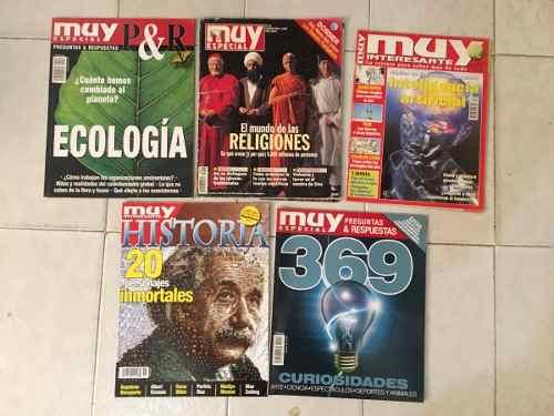 23 Revistas Muy Interesante