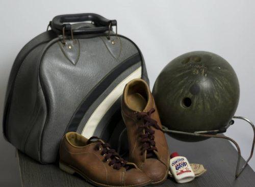 Bola De Bowling 13 Zapatos Y Bolso