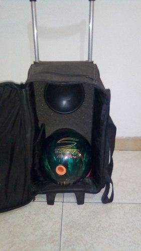 Bola De Bowling (Combo Bola, Zapatos, Maletin Guantin)