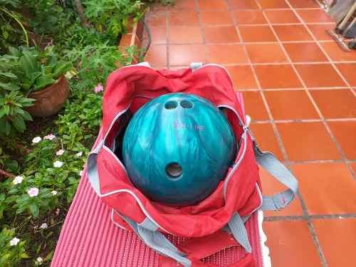 Bola De Bowling Pro Line Tec Azul