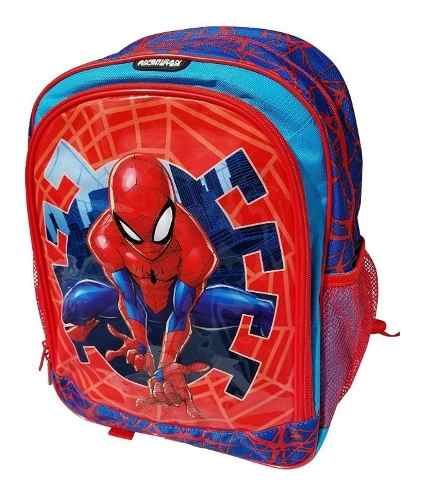 Bolso Morral Escolar Spiderman