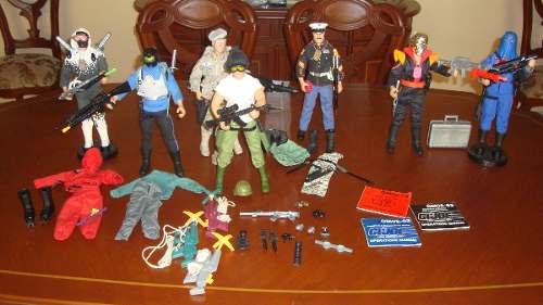 Coleccion 7 Figuras G.i.joe De 30cm Hall Of Fame Hasbro 93