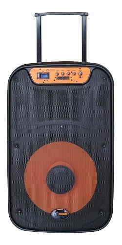 Corneta Portatil Moonki Ms115blt 2500w Usb Microfono Bagc