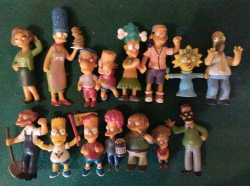 Figuras De Coleccion De Los Simpson