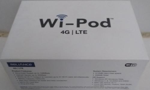 Modem Router Wifi 4g Lte Zte Wd670 Wi-pod Para Digitel