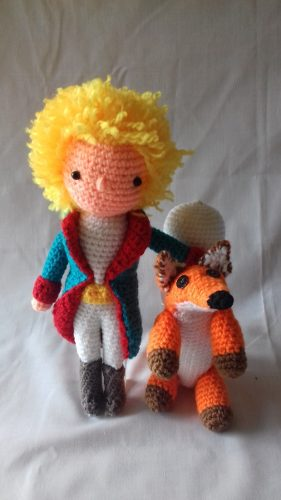 Zorro amigurumi tejido a crochet (amigurumi Fox) | Crochet.eu | 500x281
