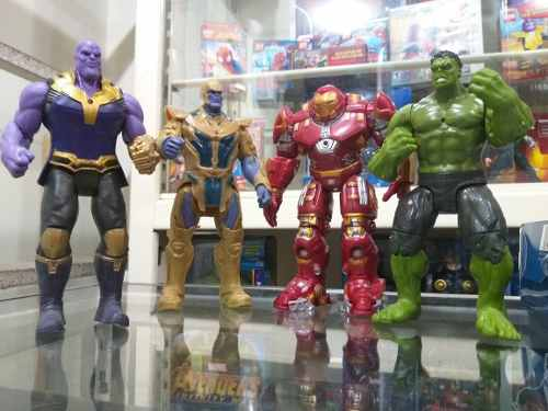 Muñecos Avengers Infinity War De 15 Cm Articulados