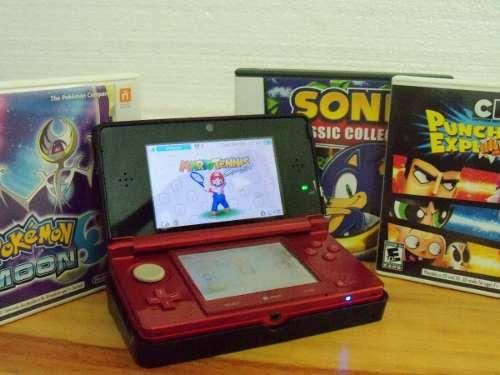 Nintendo 3ds (+3 Juegos) Regalo