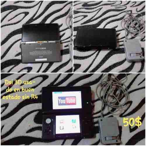 Nintendo 3ds Usado En Buen Estado Sin R4, Buen Precio.