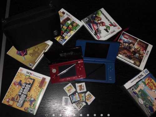 Nintendo 3ds Y Nintendo Ds Xl Con Juegos