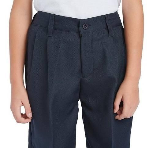 Pantalon Escolar Gabardina Niña Niño