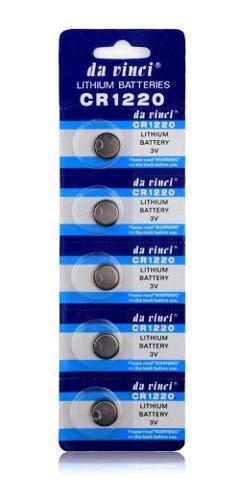Pila Bateria Cr1220 3 Voltios Blister De 5 Unidades