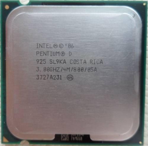 Procesador Intel® Pentium® D 925 Caché De 4 M, 3,00 Ghz,
