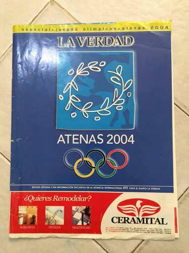 Revista Especial Del Diario La Verdad Olimpiadas Atenas