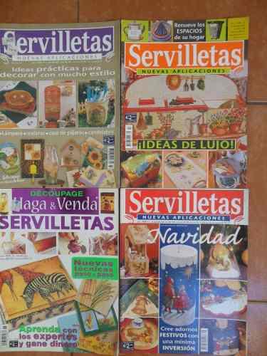 Revistas De Manualidades Decoupage, Servilletas