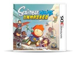 Scriblenauts Unmasked Nintendo 3ds Juego Fisico